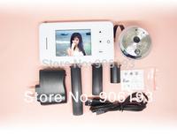 T117A Free shipping 2.8 Display Digital Peephole Door Viewer+Photo shooting+Night Vision+Destruction Alarm