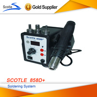 scotle 858D+ Desoldering Tool Hot Air Gun 220V