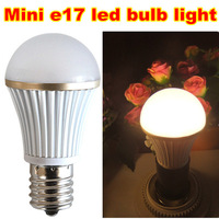 Free shipping (20pcs/lot) popular high brightness mini led bulb e17 led smd