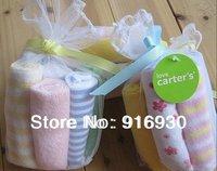 wholesale free shipping 8pcs/set Carter baby's towels/baby bibs/infantfeeding towel santa feeding towels ZF154
