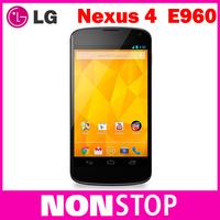 "Google Nexus 4 Original LG E960 Mobile Phone GPS WIFI 4.7"" 3G 8MP WIFI GPS 8GB/16GB  Internal Memory"