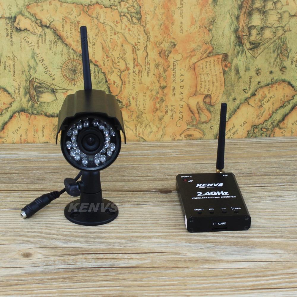 Digitale drahtlose Überwachungskameras: Video +audio+ Wiedergabe + bewegungserkennung = auf lösen ir-cut Tag und Nacht