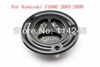 motorcycle parts Black Keyless Fuel Tank Gas Cap For Kawasaki Z1000 2003 2004 2005 2006 2007 2008