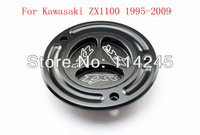 motorcycle parts Black Keyless Fuel Tank Gas Cap For Kawasaki ZX1100 1995 1996 1997 1998 1999 2000 2001 2002 2003 2004 2005-2009