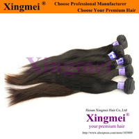 Wholesale 4 pcs/lot AAAAA grade dyeable 40 inches straight peruvian virgin remy hair extensions,any color is available