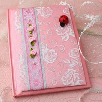 Landen HuaDi high-end custom wedding gift book pink originality, individuality, gift specials, new products