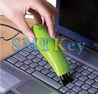 Computer Laptop PC Keyboard USB 2.0 grn Vacuum Cleaner