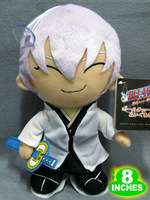 BLEACH Ichimaru Gin Plush Doll Toys 8inches Stuffed Anime Manga Birthday Present Gift BLPL3990