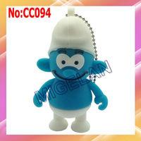 Wholesale1GB 2GB 4GB 8GB16GB 32GB 64GB Cartoon USB Flash Drive+Free shipping #CC094