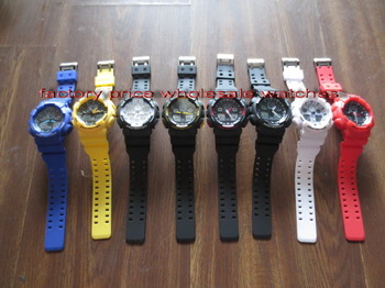 2013 g sports led watch light fashion shocking sports g style digital watches 6900 without shocked box, Free Shipping