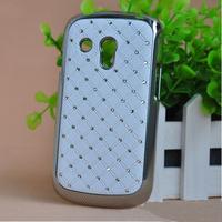For Samsung Galaxy S3 Mini case i8190 case hard PC+ bling Rhinestone diamond material, free shipping