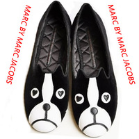 Cats Dogs-cats and Dogs MA*RC BY MA*RC JACO*BS Shoes Velvet Loafers M*J Soft Comfortable Flats Shoes Drop Shipping/Free Shipping