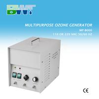 1-8 g/h ozone generator for hotel