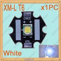 CREE Single-die XM-L XMLT6 10W White LED Light Emitter Bulb Mounted on 20mm Star PCB For Flashlight