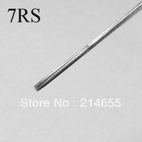 Professional 50 Pieces 7RS Tattoo Round Shader Needles High Quality Sterile Disposable Tattoo Needles