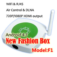 Google TV Set Top Box, Android 4.1 Internet STB support Smart phone Aircontrol and Airplay