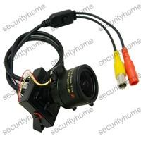 Mini 2.8-12mm Auto Sony 650TVL Starlight 3D-DNR OSD RJ10 DSP CCTV Camera D-WDR