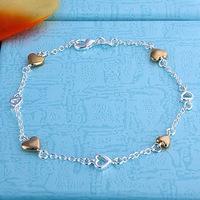 Браслет-цепь Silver Angel 925 whosales 18K B-90 серьги гвоздики silver angel 100% 18k 7328
