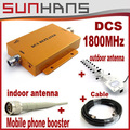 Direct Marketing Sunhans DCS 1800Mhz Booster Coverage 2000square signal booster repeater Amplifier Free drop shipping