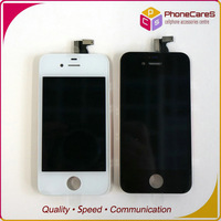 DHL Free shipping,For iPhone 4s LCD Display+Touch Screen digitizer+Frame complete,100% gurantee Original LCD,Best price20pcs/lot