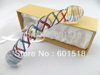 Wholesale price Sex penis toy glass dildo pyrex  GFG-S2225