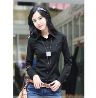 2014 new women's clothing han edition women shirt shirt /Two kinds of color/free shipping