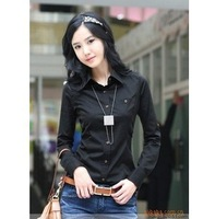 2014 new women's clothing han edition women shirt shirt /Two kinds of color/free shipping
