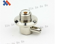 PL259 female right angle solder RF connector for RG58/LMR195 cable 2pcs /lot  free shipping