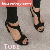High heel sandals,Hot sale! 2014 Fashion dress shoes for sexy lady office career style.High quality.Free shipping!Big size 34~43
