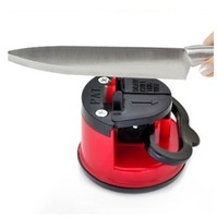 tungsten steel Knife Sharpener with suction pad Scissors Grinder Secure Suction Chef Pad Kitchen Sharpening Tool