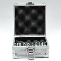 Aluminum Alloy Silver Tattoo Case Box for Tattoo Machine Gun #WS-I4001