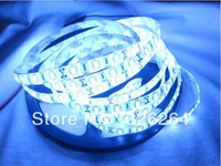 Free shipping 12v LED Flexible strip light 5630SMD cool white color 300leds 60leds/m waterproof IP65 5m/roll