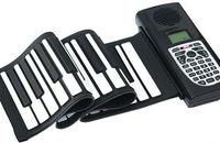 49 Keys Promotion Newest Portable Flexible Roll Up Electronic Piano Soft Silicone Keyboard Midi Digital Synthesizer