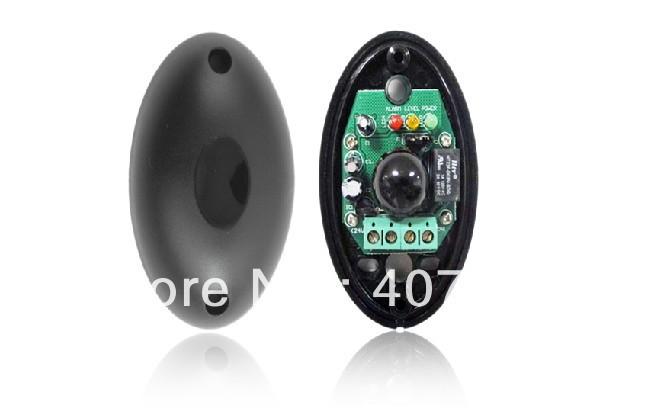 Perimeter Burglar Alarm single beam one beam ABO egg shaped active infrared detector IR Sensor photo eye work with alarm host(China (Mainland))