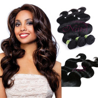 "Cambodian Virgin Raw Hair Weaving Extension 18""/20""/22"" Mix Lengths Bodywave Free Shipping"