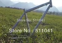 Titanium alloy road frame,free shipping titanium mountain bike frame Paypal is available