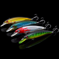 8X Various Colors Trulinoya  MINNOWS Fishing Lures DW03 110MM13g