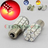 2Pcs 1156/Ba15s S25 High Bright 27LEDs Backup Reverse / Turn Signal LED Light Lamp