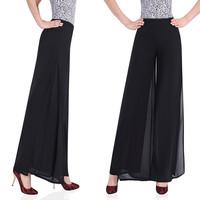 2013 spring wide leg pants chiffon skirt pants high waist trousers fashion skorts women's casual wide leg pants