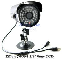 Sony Effio-E 700TVL 48IR waterproof Security camera CCTV  camera W/Bracket