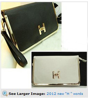 newly 2012 envelope bag vintage briefcase buckle day clutch evening bag cross-body women's handbag small bags