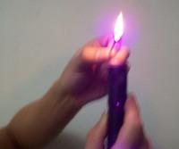 405nm Adjustable Blue Violet Laser Pointer Torch 1000mW