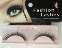 eyelash extenxionw  false eyelashes natural nude makeup lengthening eyelash single cross yj010 human hair