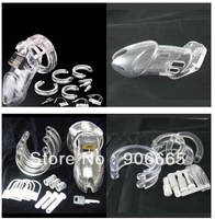 Hot!!-Plastic + metal lock Male sexual supplies male chastity supplies adult toys 10pcs