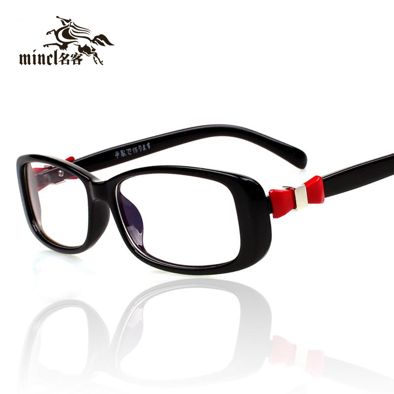 Glasses Frame Decoration : Gimmax-women-s-bow-glasses-myopia-frame-fashion-eyeglasses ...
