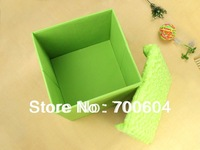 Sale 2014 New Product! Multifunctional Folding/Collapsible Storage Chair Box/ Personal Organizer, Ottomans/Cushion, Footstool