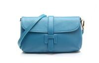 Women 2013 cowhide 100% genuine leather women portable messenger mini small clutch satchel bag discount sale promotional item