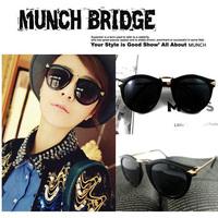 Fashion Vintage Women Designer Sunglasses Walter Arrown Metal Sun glasses Retail 1pcs Free Shipping