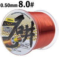 8.0# 18.4kg Abrasion Resistant Fishing Line