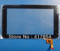Free shipping 7 inch 12pin touch for JXD S6600, X18 Soulycin S18 deluxe version Tablet Capacitive touch screen,HLD-0726